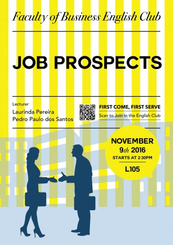Job Prospects - Faculty of Business English Club