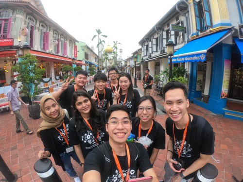 BEYOND THE CLASSROOM:  IBC STUDENTS OUT AND ABOUT, SUMMER 2019