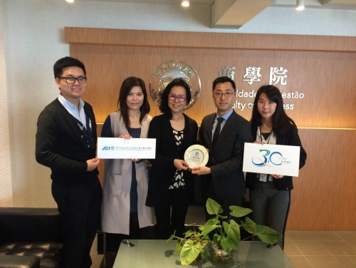 The Faculty of Business Holds its First Collaborative Meeting with JCI on the Intelligent Marketing ...