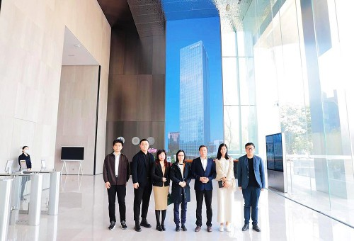 Teachers and students of the Neuroscience and Business Laboratory visited Shenzhen Das Intellitech C...