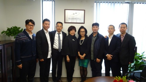 Dr. Anita Leung Visits FOB Asia-Pacific Business Research Centre