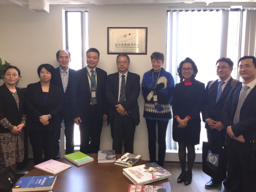 Scholars from Hiroshima Peace Institute of Hiroshima City University visit Asia-Pacific Business Res...